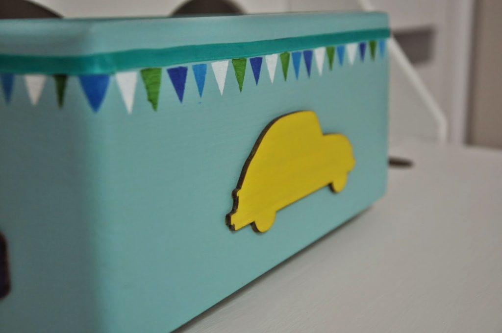 pudełko w stylu skandynawskim