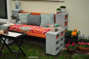 siedzisko do ogrodu