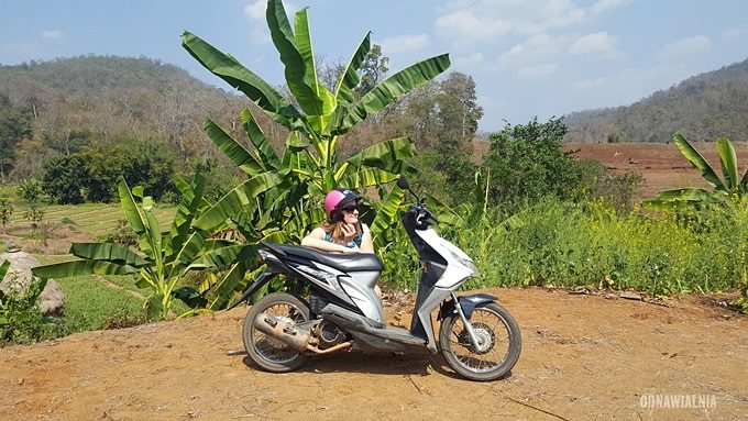 Pai na skuterach Tajlandia