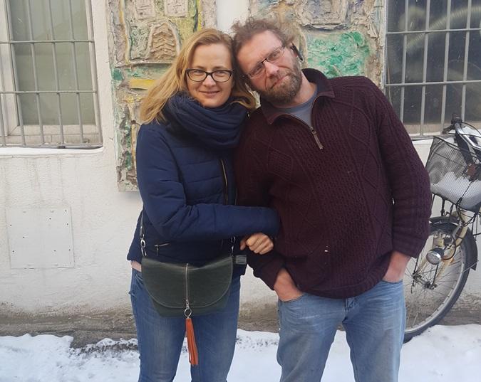 Małgorzata Budzich i Wojciech Bednarek