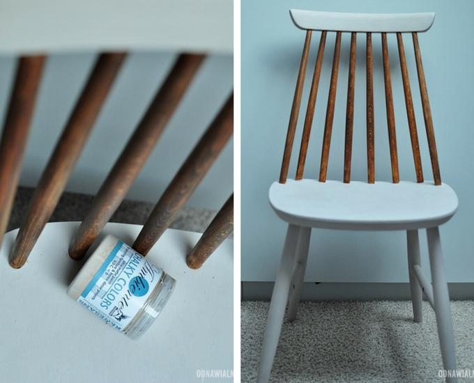 malowanie krzeseł jak odnowić krzesło
