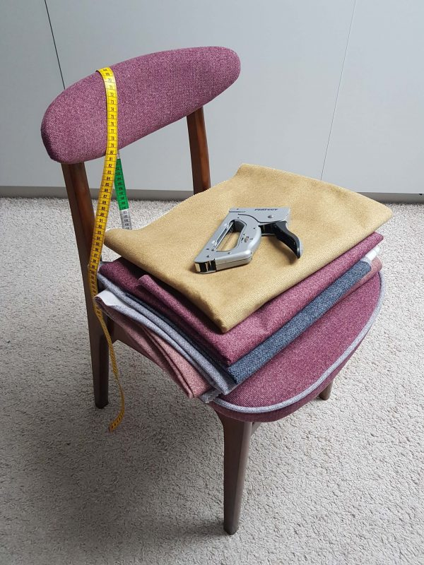 krzesło hałas grzybek renowacja