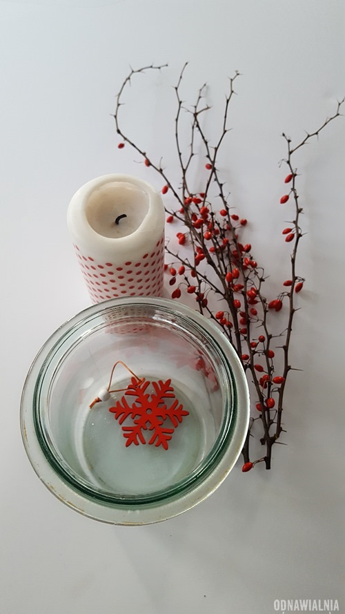 łatwy świecznik DIY