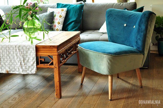 jak tapicerować fotel prl