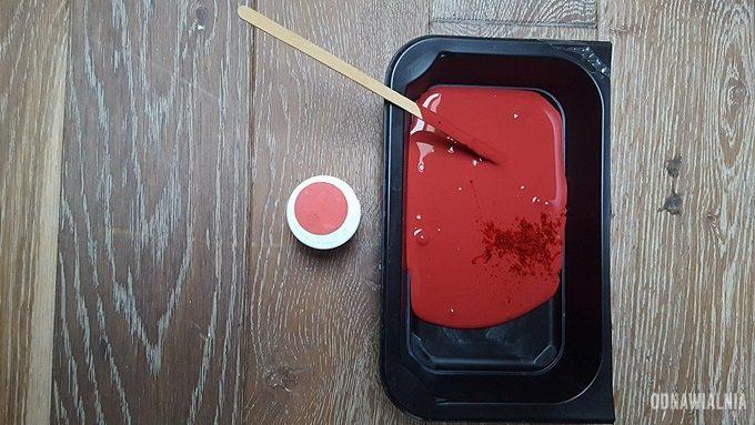 jak uzyskać intensywną czerwień farby