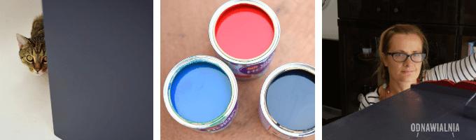 jak zrobić granatowy kolor