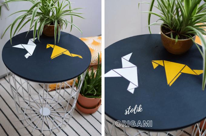 stolik kawowy origami
