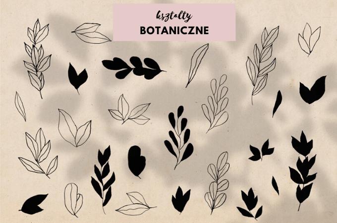 wzory na meblach botaniczne