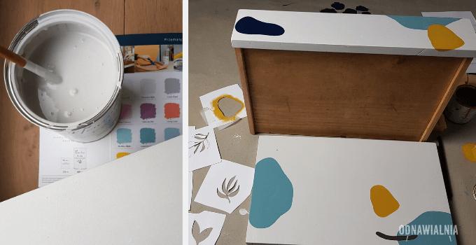 jak zrobić wzory na meblach