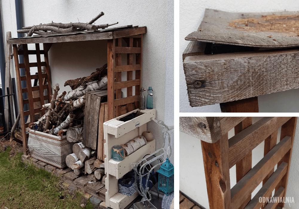 jak odnowić drewno w ogrodzie