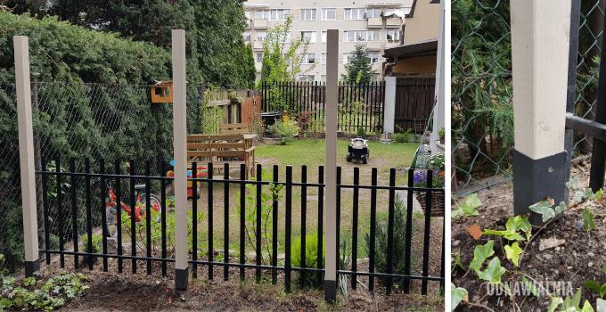 montaż ogrodzenia stare drzwi