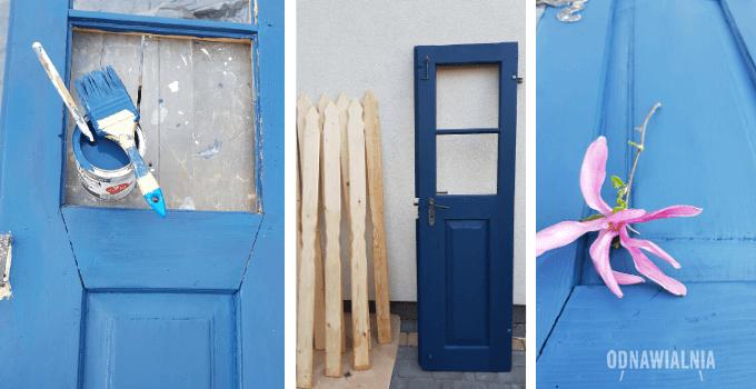malowanie starych drzwi
