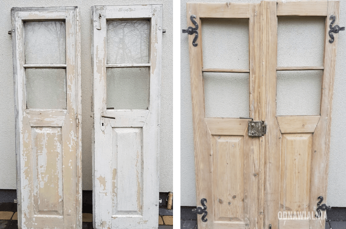 metamorfoza starych drzwi
