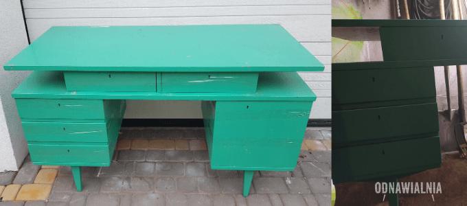 biurko renowacja