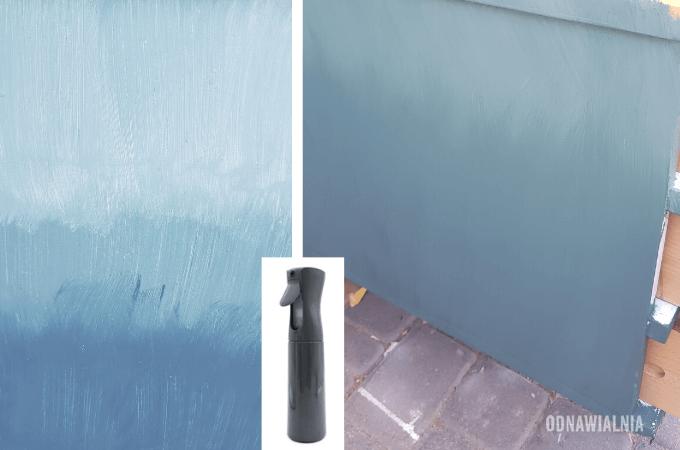 malowanie ombre druga warstwa