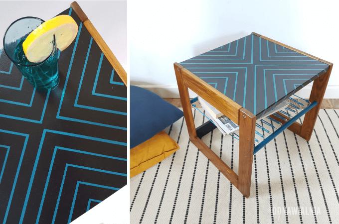 szybka metamorfoza stolika