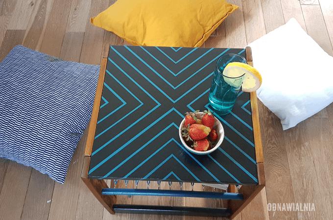 metamorfoza stolika odnawianie mebli