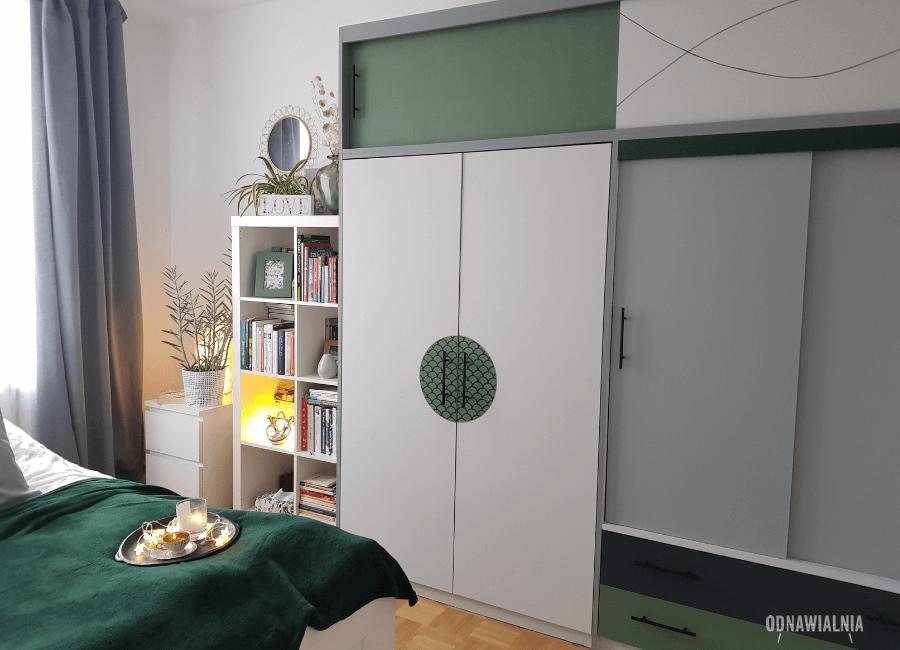 malowanie szafy metamorfoza